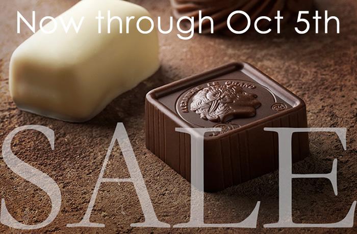 Leonidas Chocolate Anniversay Sale